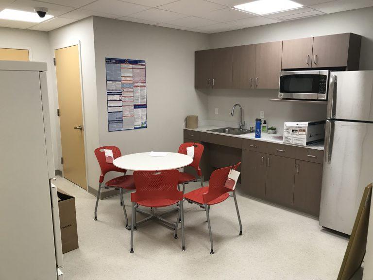 break room renovation